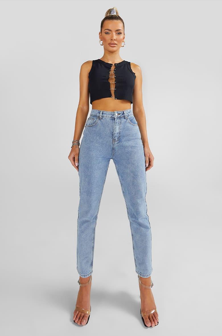 Denim Fit - Mom Jeans